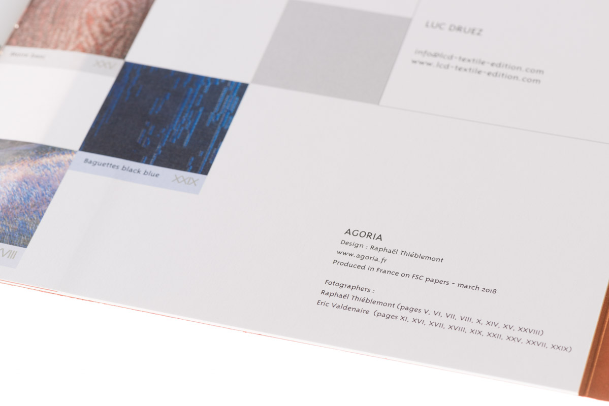 LcD Textile Edition Catalog