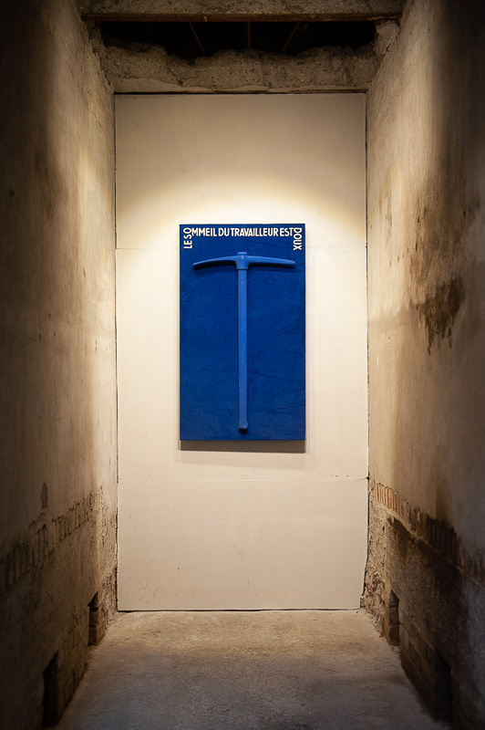 "Exposition ""BLEU de travail"""